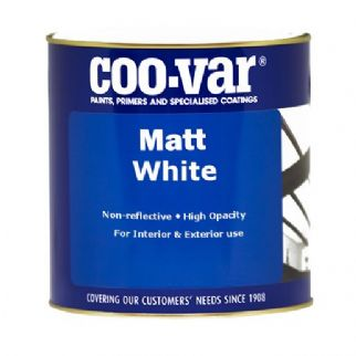 Coo-Var Matt White Oil Based